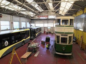 Heritage Tram Depot by LuneTube