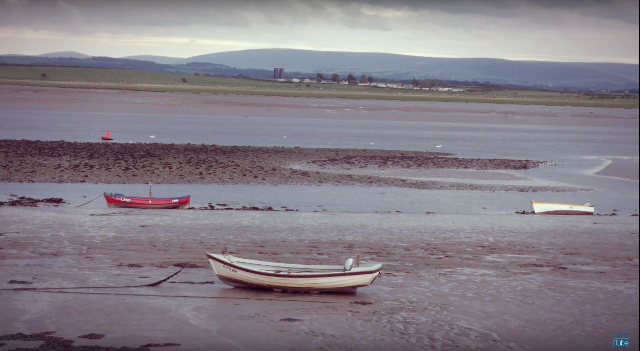 Looking back towards Lancaster from Sunderland Point Introducing LuneTube - the online channel for North Lancashire