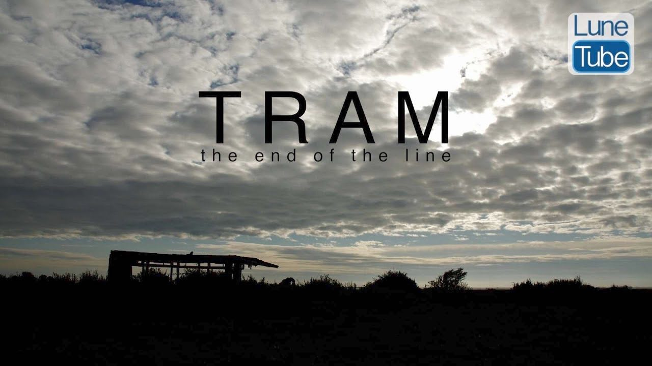 This is a film about a vintage tram in a farmers' field at Sunderland Point in North Lancashire