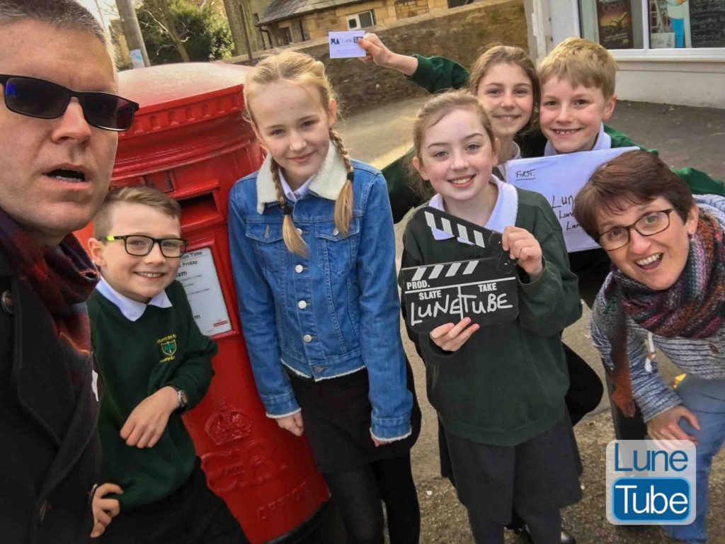 lunetube postbox film with Scotforth